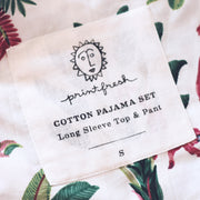 Royal Palms Pajama Set