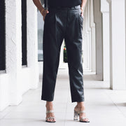 Vegan Leather Trouser Pant