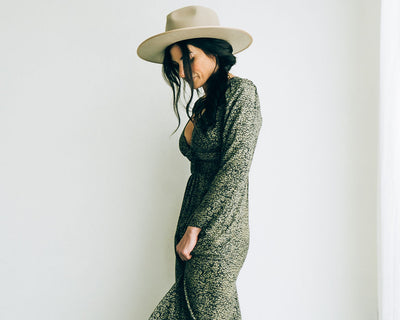 Saltwater Luxe Fiona Olive Maxi Dress