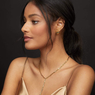 Gorjana Jax Huggies | Gold Earrings