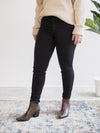 Just Black Denim High Rise Classic Black Skinny