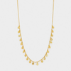 Gorjana Chloe Mini Necklace | gold and silver