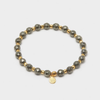 Gorjana Power Gemstone Elastic Bracelet for Strength-Gold