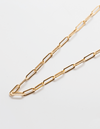 Admiral Row Gold Link Choker Necklace