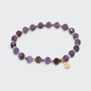 Gorjana Power Gemstone Elastic Bracelet for Tranquility-Gold
