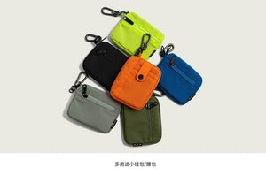 INFLATION 2019 Men Coin Purses Square Hand Bag Candy Color Wallet Mobile Phone Bag Casual Clutch Money Fashion Bag  270AI2019