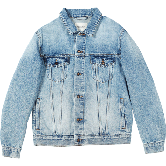 Denim Jacket Men Back Embroidery Letter High Quality Outwear Jackets Brand Clothing  Sj120024