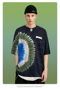 Tshirt Tie Dye Streetwear Men Tee Shirt Homme Oversized Men
