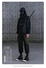 Load image into Gallery viewer, Cargo Pants With Multi-Pocket Black Cargo Techwear Pants Men Wide Leg Cargo Trousers