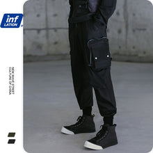 Load image into Gallery viewer, Inflation Mens Multi Pockets Cargo Pants Back Streets Of Harajuku Techwear Men Cargo Pants