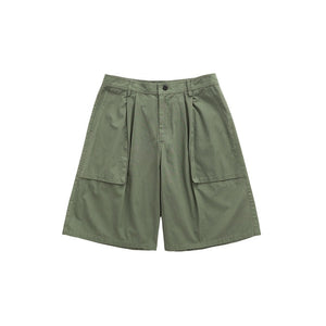 Cargo Shorts With Quick Dry In Pure Color Mens Shorter Shorts Cargo Shorts