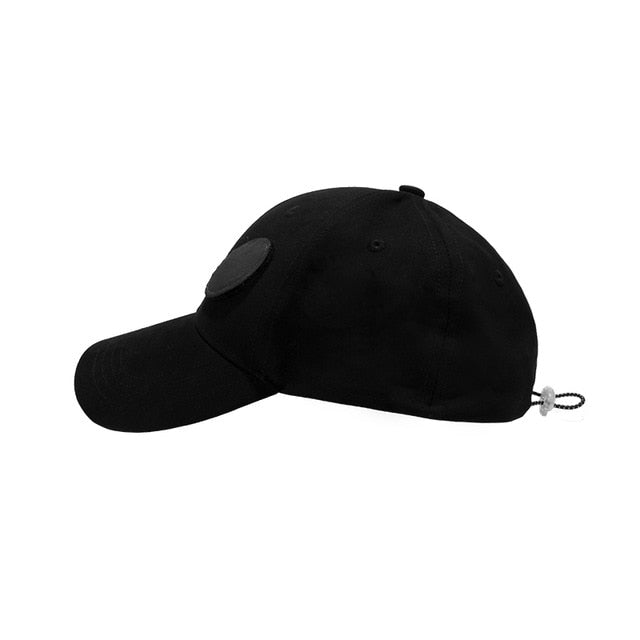 Streetwear Men Hip Hop Reflective Baseball Cap Men Summer Outdoor