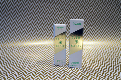 Anti-Aging Eye Gel and Anti-Aging Face Serum
