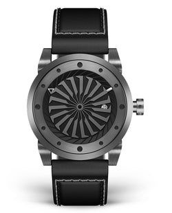 Men's turbine Watch with Automatic Movement