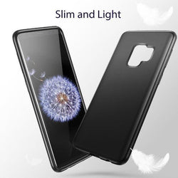 Matte-finish Lightweight Soft Gel Phone Case for Samsung Galaxy S9/S9 Plus