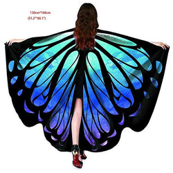 Funny halloween costumes butterfly wings shawls and wraps