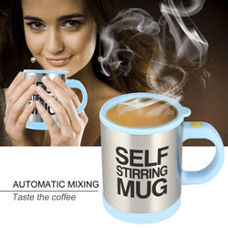 GleeVida Automatic Electric Lazy mug Mixing Coffee Tea Cup