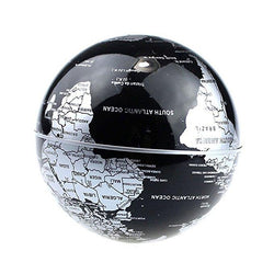 Floating Globe with LED Lights C Shape Magnetic Levitation Floating Globe World Map for Desk Decoration