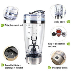 New Lazy Self Automatic Stirring Mug Water Bottle Auto Stirring Cups Electric Shaker Blender Mixing Coffee Continental Cup