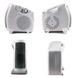 Mini Adjustable Air-conditioning Fan Heater Portable Family Third Gear Function Warmer Cooler