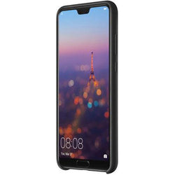 Black Silicone Phone Case For Huawei P20