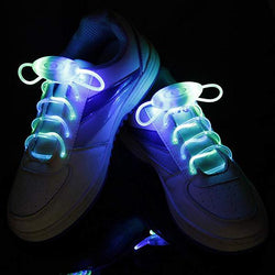 Funny Halloween costumes Waterproof LED sneaker laces online 5 Pairs