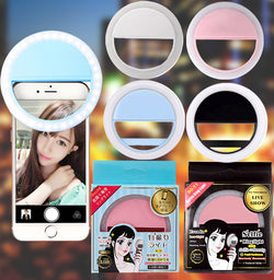 Convenient LED Selfie Light SelfieHalo
