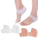 1Pair Silicone Insole Socks Pedicure Foot Care Protector