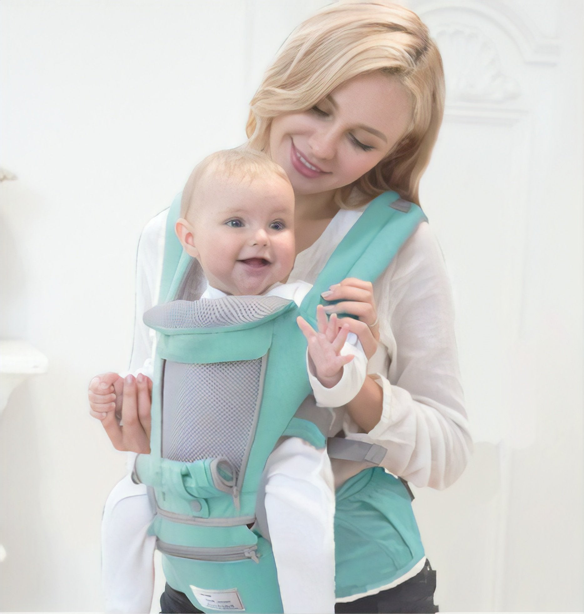 All-In-One Baby Breathable Travel Carrier-Ergonomic design