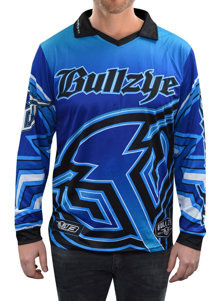 Bullzye Mens Long Sleeve Fishing Tee