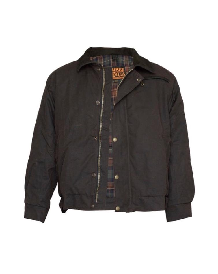 Burke and Wills Mens Swan Hill Bomber Jacket