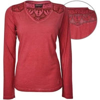 Wrangler Womens Mia Long Sleeve Top