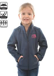 Pure Western Girls Softshell Jacket