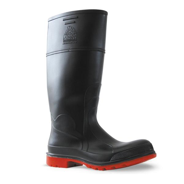 Bata Mens Gumboot Black Safety