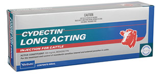 Cydectin Long Acting Injection 500mL