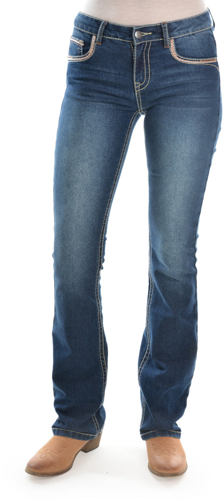 Pure Western Womens Emma Bootcut Jean PCP2208316