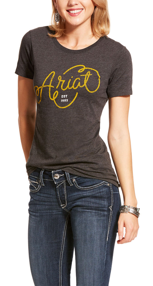 Ariat Womens Rope Tee Shirt