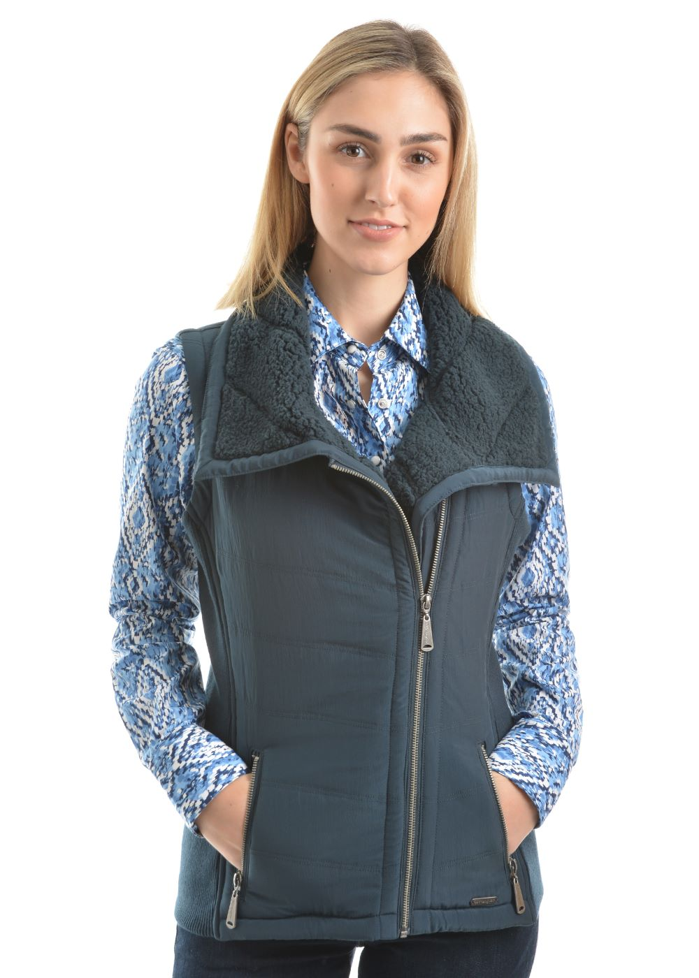 Wrangler Womens Addilyn Vest