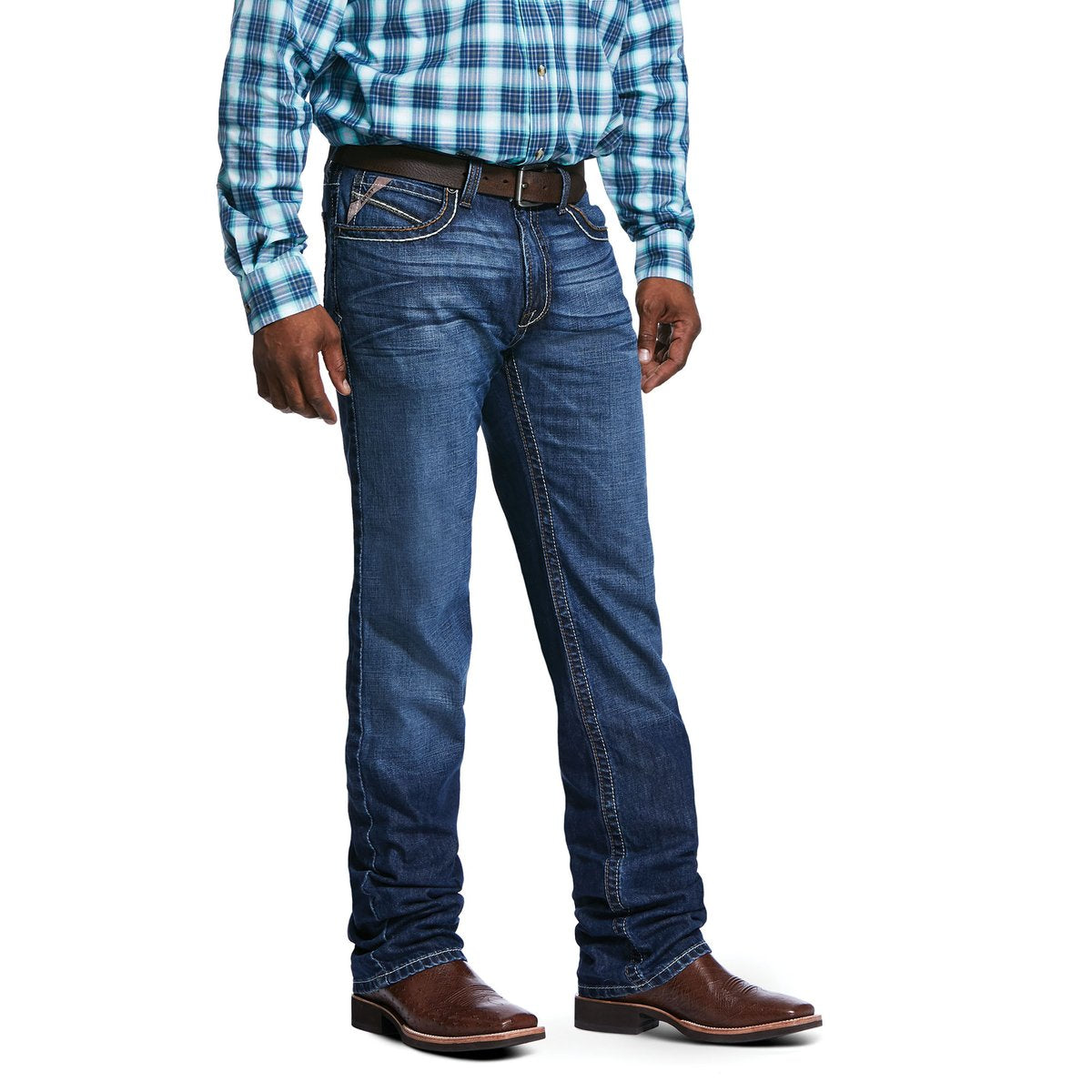 Ariat Mens M2 Relaxed Banner Bootcut Jean 10032083