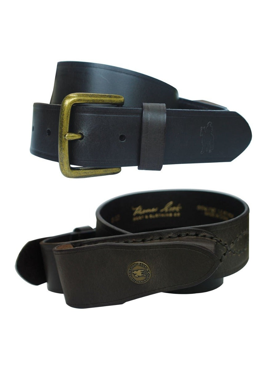 Thomas Cook Knife Belt with Pouch