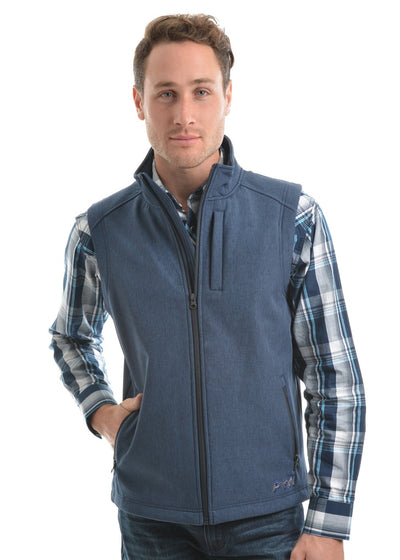 Pure Western Mens Ryland Softshell Vest