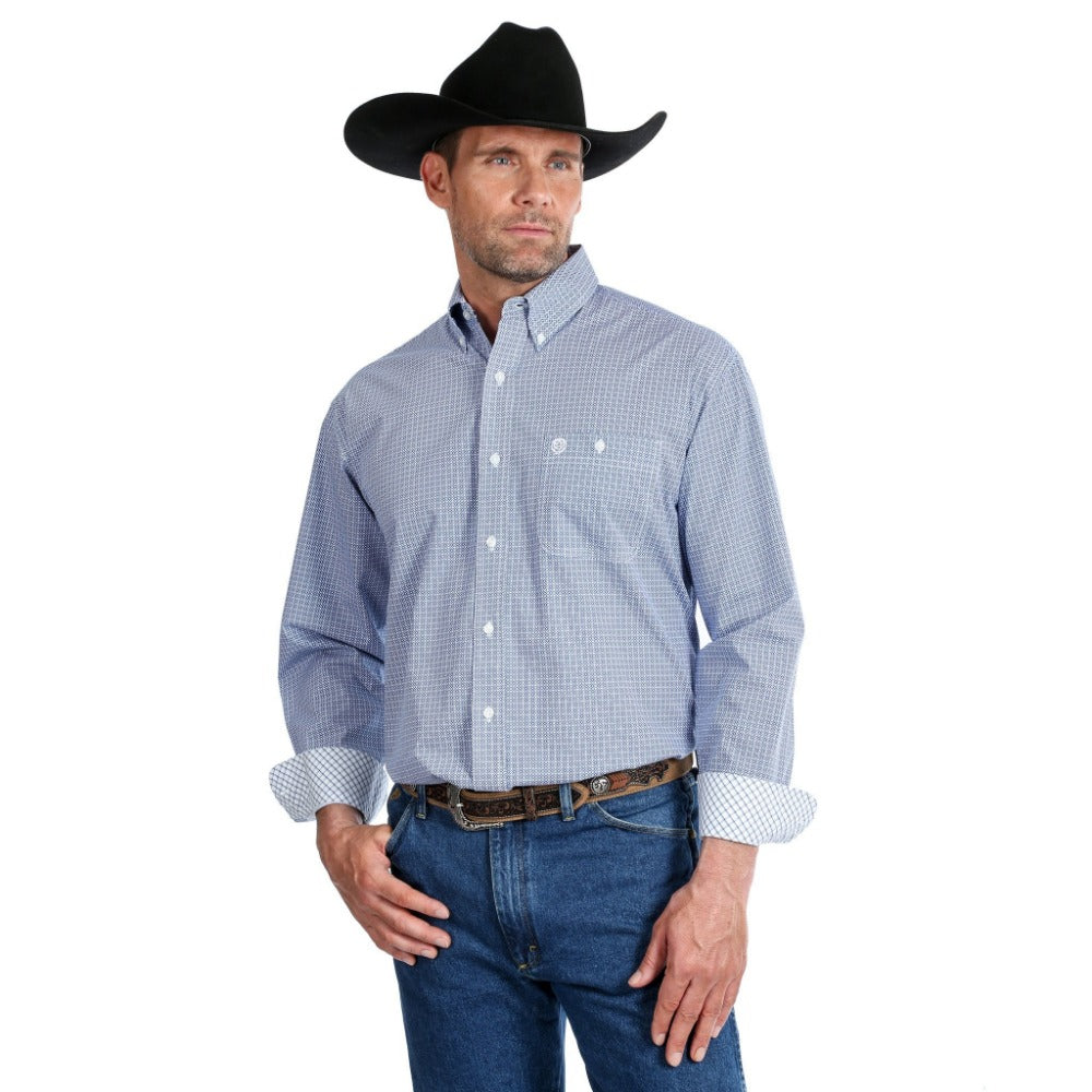 George Strait Mens Long Sleeve Shirt