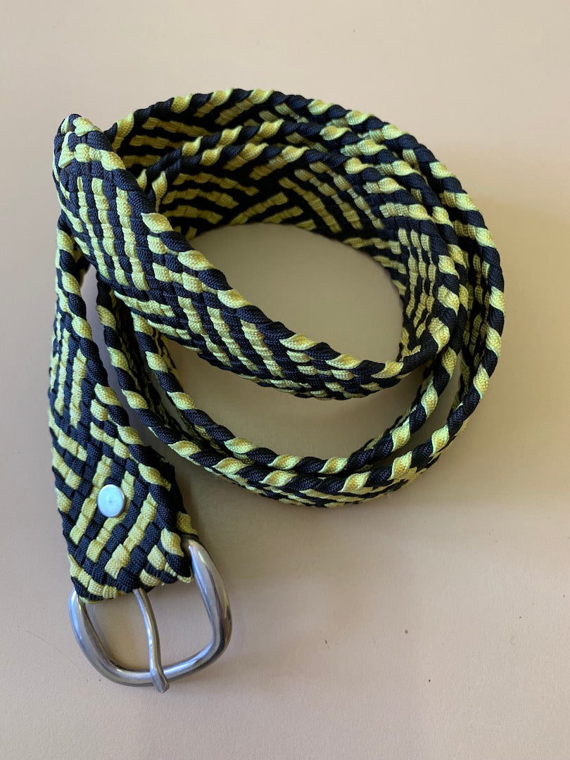 Hand Braided Paraline Assort Colour Belt