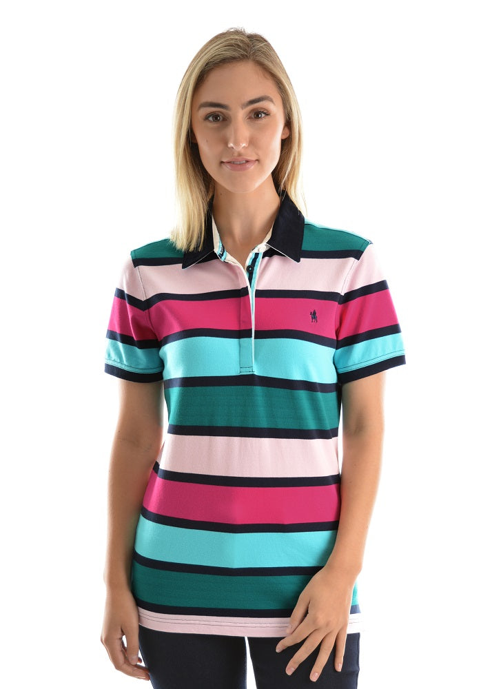Thomas Cook Womens Diana Stripe Polo