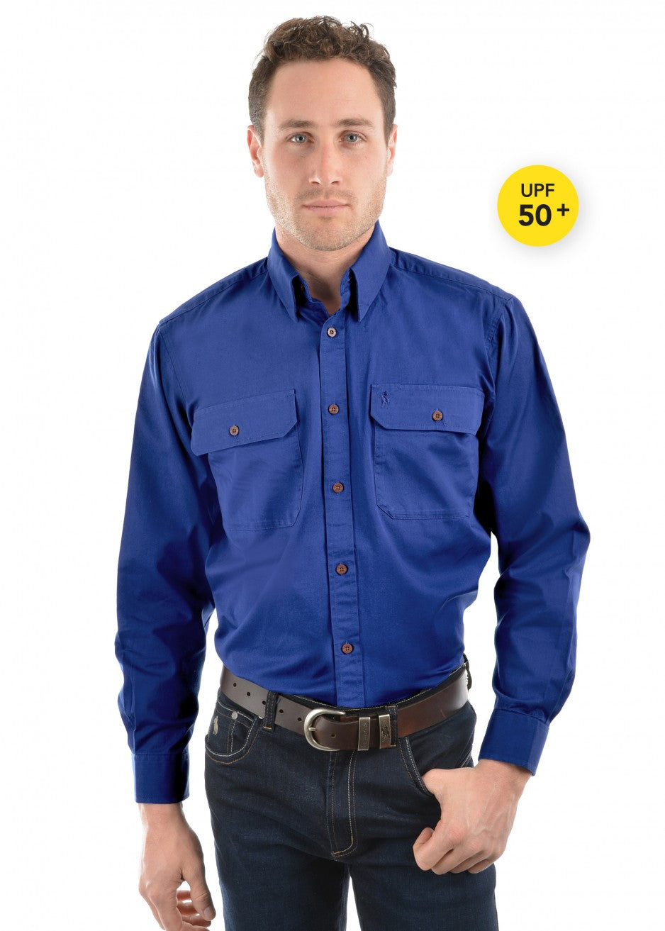 Thomas Cook Uni L/Drill Full Button Workshirt