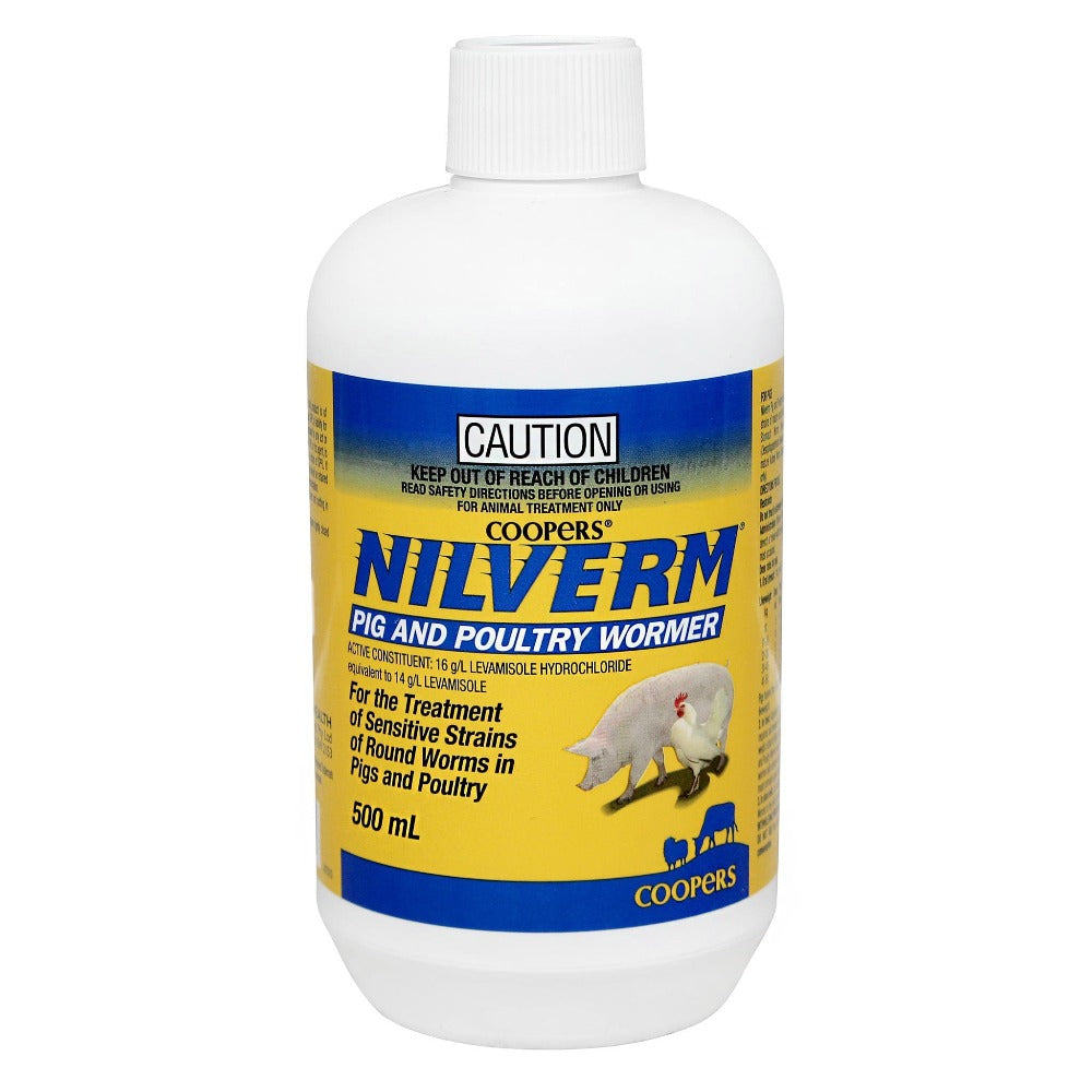 Nilverm Pig and Poultry Wormer 500ml