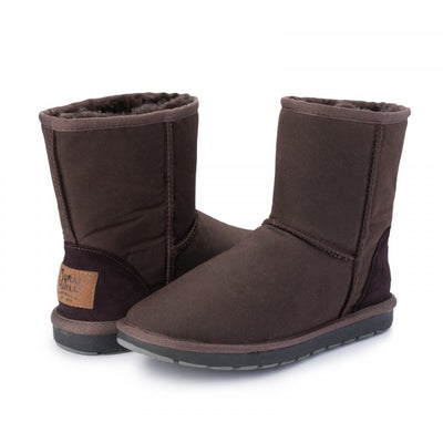 Burke and Wills Womens Woolly Oilskin Boots