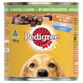 Pal Pedigree Dog Cans 700g x 12