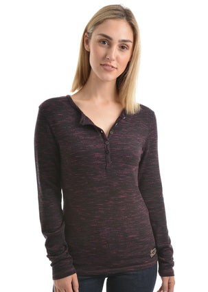 Wrangler Womens Zaylee Long Sleeve Top