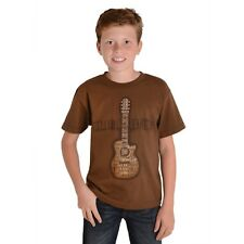 Wrangler Boys USA Western Guitar Tee Shirt